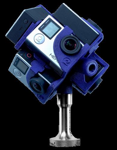 360 VR Camera Rig