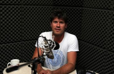 Seth Lakeman in Recording Studio Plymouth